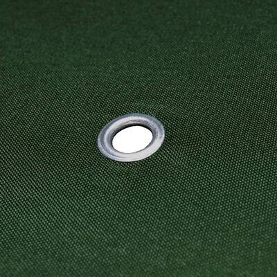 vidaXL Toile supérieure de belvédère 310 g / m² 4 x 3 m Vert