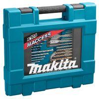 Makita Coffret ensemble accessoires 104 pièces en coffret MAKPAC