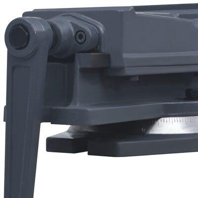 vidaXL Étau à table tournante Fonte 100 mm