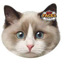 Pet Faces Oreiller Visage d'animal de compagnie Chat ragdoll