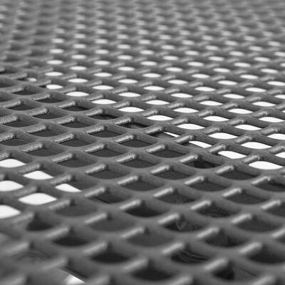 vidaXL Table de jardin 150x90x72 cm Acier Treillis