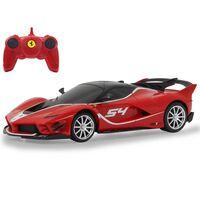 Jamara Voiture télécommandée Ferrari FXX K Evo 1:24 Rouge