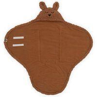 Jollein Couverture d'emmaillotage Bunny Caramel