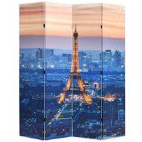 vidaXL Cloison de séparation pliable 160x170 cm Paris la nuit