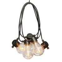 KONSTSMIDE Guirlande lumineuse avec 10 ampoules remplaçables