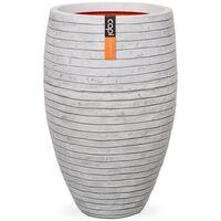 Capi Pot à fleurs Nature Row Elegant Deluxe 40x60 cm Ivoire KRWI1131