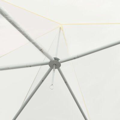 vidaXL Chapiteau d'extérieur Crème 600 x 440 x 330 cm