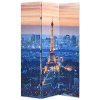 vidaXL Cloison de séparation pliable 120x170 cm Paris la nuit
