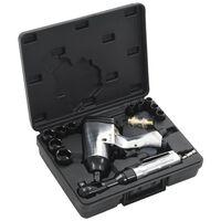 """vidaXL Jeu d'outils pneumatiques 1/2"""" 16 pcs"""