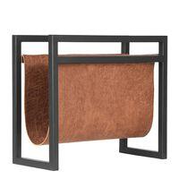 LABEL51 Porte-revue 45x20x38 cm Cognac