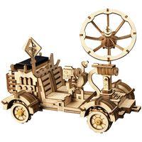 Robotime Jouet voiture à énergie solaire Rambler Rover