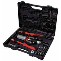 KS Tools Jeu d'outils de rivetage universels 11 pcs 150.9630