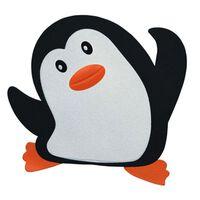 Sticker antidérapant Spirella 'Pingy' Blanc/Noir - 5 pcs