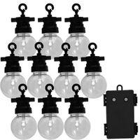 Luxform Ensemble de guirlandes lumineuses de jardin avec 10 LED Fiji