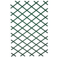 Nature Treillis de jardin 2 pcs 100 x 200 cm PVC Vert