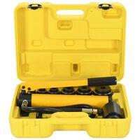 vidaXL Ensemble d'outils à sertir hydraulique 22-60 mm