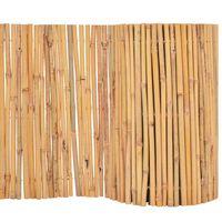 vidaXL Clôture Bambou 500 x 50 cm