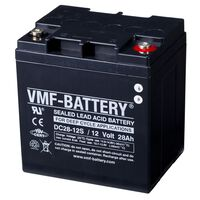 Batterie AMG VMF à décharge profonde 12 V 28 Ah DC28-12S