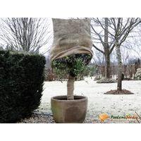 Housse d'hivernage en toile de jute tissée 230gr/m² Ø75x100cm