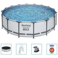 Bestway Ensemble de piscine Steel Pro MAX 488x122 cm