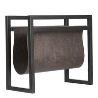 LABEL51 Porte-revue 45x20x38 cm Anthracite