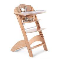 CHILDHOME Chaise haute bébé 2 en 1 Lambda 3 Naturel