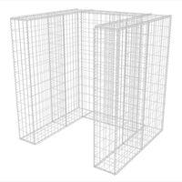 vidaXL Panier de gabion simple Acier 110 x 100 x 120 cm