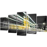 Set de toiles murales imprimées London Big Ben 100 x 50 cm