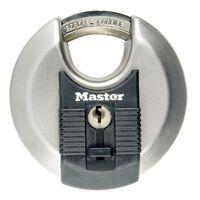 Master Lock Cadenas Disque Excell Acier inox 80 mm M50EURD