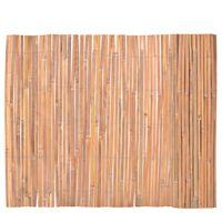 vidaXL Clôture en bambou 100 x 400 cm