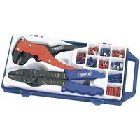 Draper Tools Ensemble de pince à sertir et pince à dénuder Acier 33079