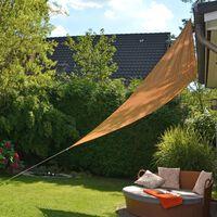 HI Voile de parasol triangulaire 3,6 x 3,6 x 3,6 m Beige