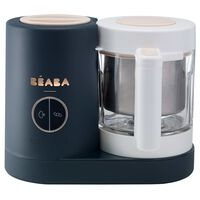 Beaba Robot culinaire 4 en 1 Babycook Neo 400 W Bleu foncé et blanc
