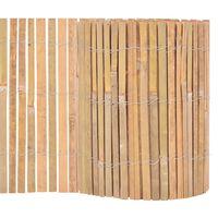 vidaXL Clôture Bambou 1000 x 30 cm
