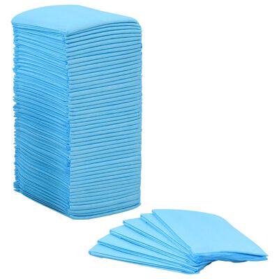 vidaXL Tapis d'hygiène pour chiens 100 pcs 60 x 45 cm Tissu non tissé
