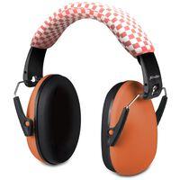 Alecto Protection auditive BV-71OE pour bébés et enfant Orange et noir