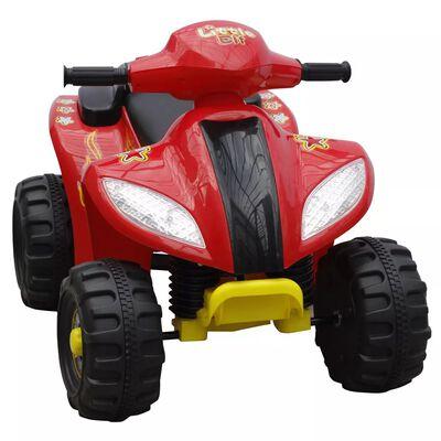 Quad électrique pour enfants Rouge et Noir