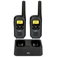 Alecto Talkie-walkie pour enfants FR-200 2 pcs Noir