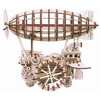 Robotime Modèle mécanique Airship Plane