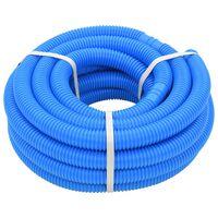 vidaXL Tuyau de piscine Bleu 32 mm 12,1 m