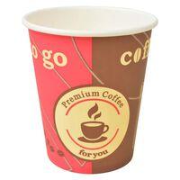 vidaXL Gobelet à café jetable 1000 pcs Papier 240 ml 8 oz