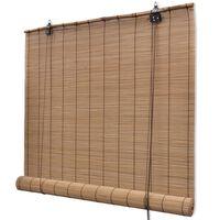 vidaXL Store roulant Bambou 100 x 160 cm