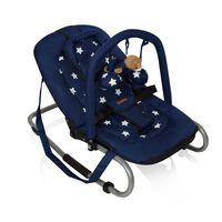 """Baninni Transat pour bébé """"Relax Classic"""" Bleu Étoile"""