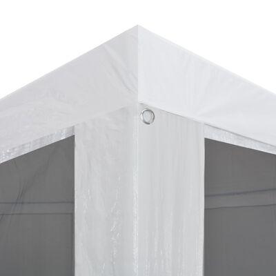 vidaXL Tente de réception avec 6 parois en maille 4 x 3 m