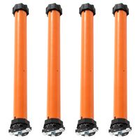 vidaXL Moteurs tubulaires 4 pcs 30 Nm