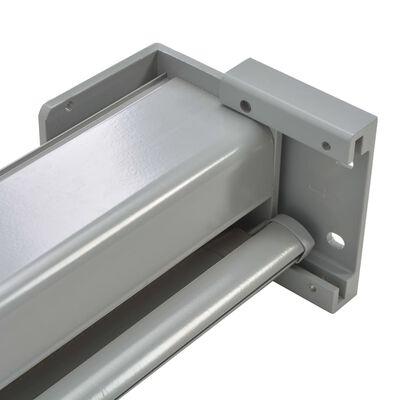 vidaXL Auvent latéral de balcon multifonctionnel 150 x 200 cm Gris