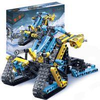 BanBao Blocs de construction Snow Driver 6953