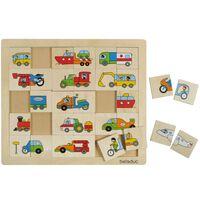 Beleduc Puzzle Transport Match & Mix 11007