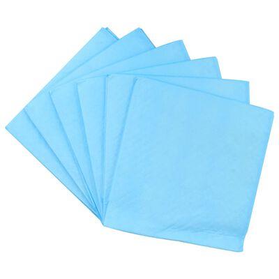 vidaXL Tapis d'hygiène pour chiens 200 pcs 60 x 60 cm Tissu non tissé