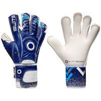 Elite Sport Gants de gardien de but de football Brambo Taille 6 Bleu